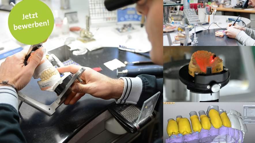 Zahntechniker/in für praxiseigenes digitales Zahnlabor