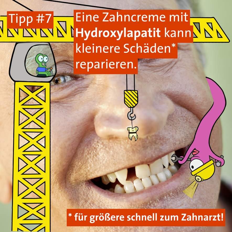 Tipp #7: Reparatur / Aufhellung nach dem Zähneputzen