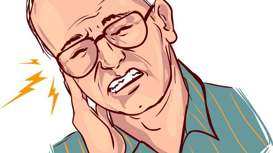 Schmerzen im Kiefergelenk: Entzündung kann die Ursache sein