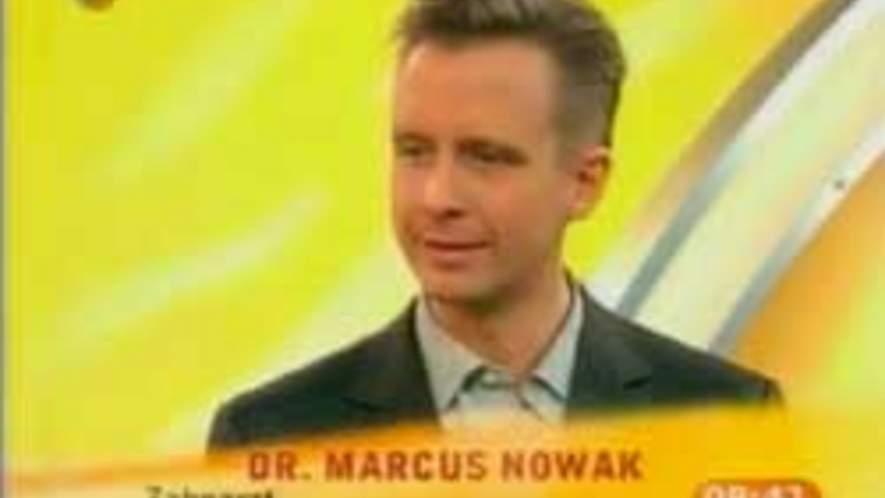 Zahnimplantate | Dr. Nowak im Frühstücks-Fernsehen (SAT.1)