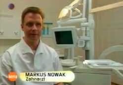 Parodontose | Dr. Nowak in der Sendung Blitz (SAT.1)