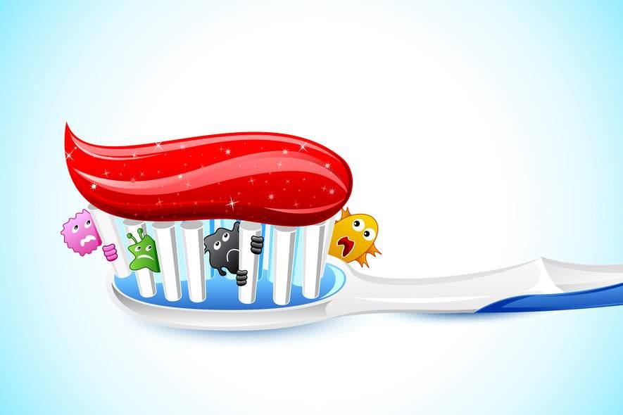 Alte Zahnbürsten – Keimalarm!