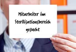 Mitarbeiter/-in im Sterilisationsbereich